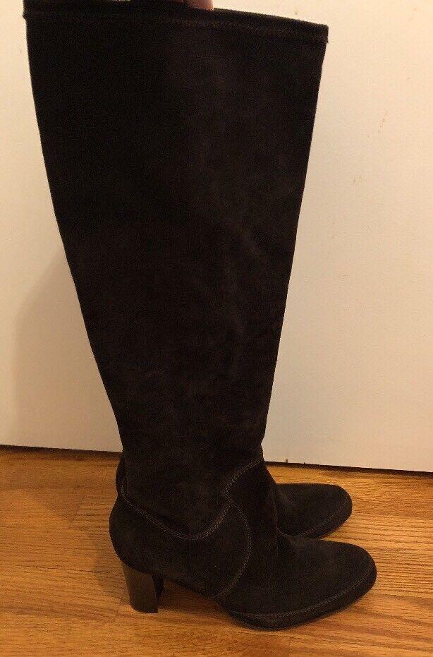 ROBERTO BOTTICELLI Salmaso Nappa High Heels Stiefel SUEDE damen Sz 40 9.5 10  s1
