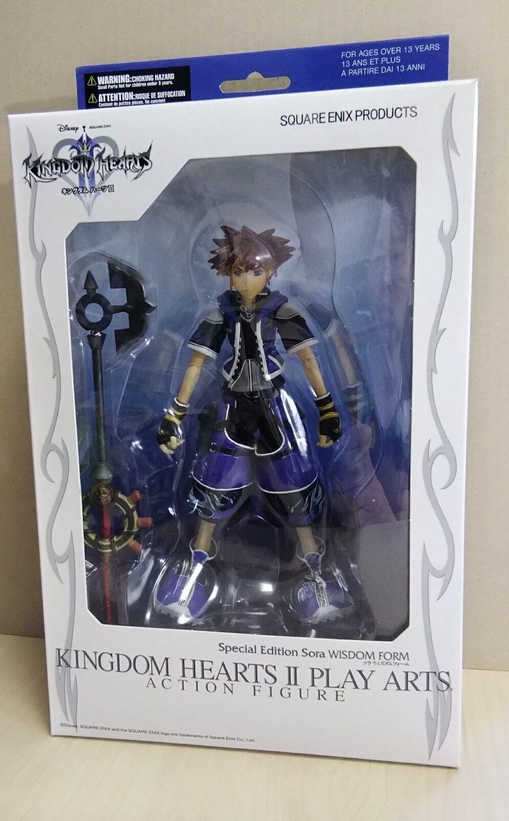 Square Square Square Enix Kingdom HeartsⅡPlay Arts Action Figure Sora Wisdom Form 795d41