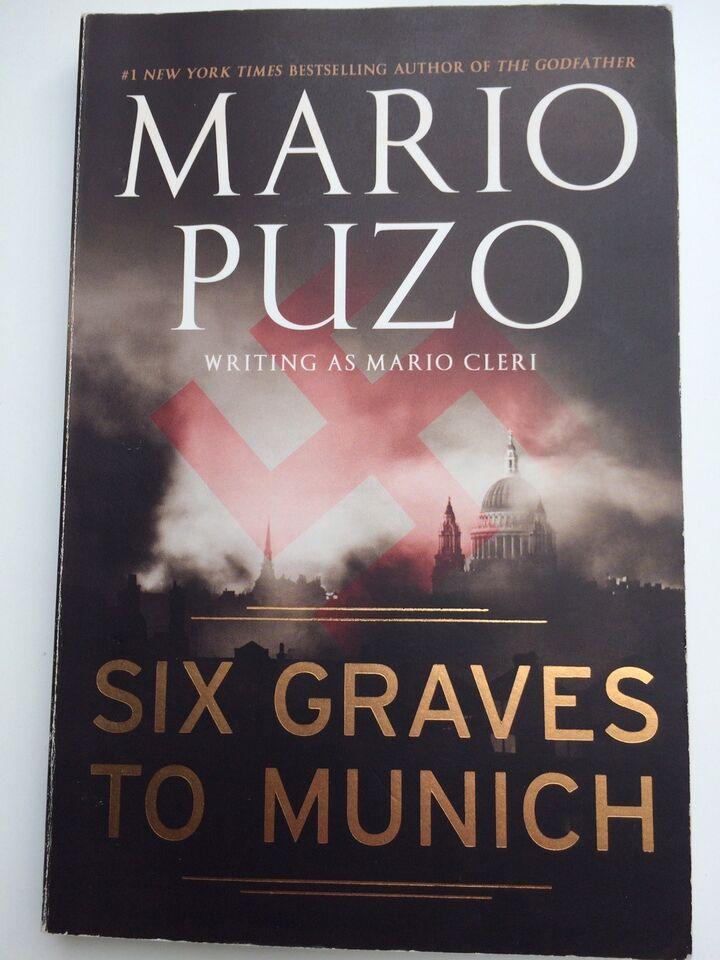"""""""Fools die"""" og flere, Mario Puzo, genre: krimi og spænding"""