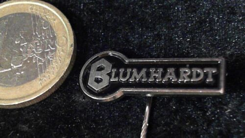 Blumhardt Anstecknadel kein Pin Badge Logo Emblem Schriftzug