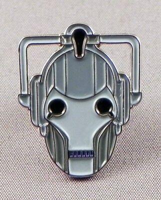 Metal Enamel Pin Badge Brooch Who Doctor Dr Hoo Cybus Logo Cyberman Cyber