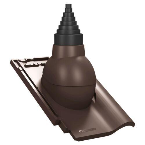 Antennendurchgang für Koramic Alegra 9 Dachziegel Antennendurchführung