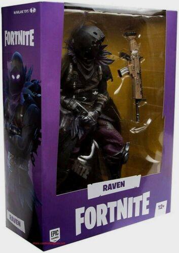 Raven 11 in environ 27.94 cm Fortnite McFarlane Toys