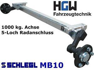 1000 kg achse f r anh nger am 1100 mm as 5 112. Black Bedroom Furniture Sets. Home Design Ideas