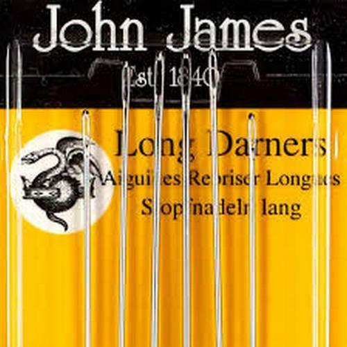 LONG DARNERS NEEDLES SIZE 7 PACK OF 6