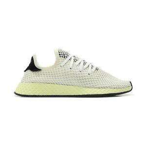 969ea1b225687 Image is loading Mens-ADIDAS-DEERUPT-RUNNER-White-Trainers-CQ2629