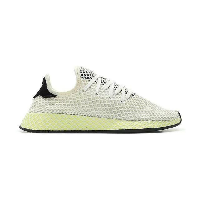lowest price 76ccc f6ae7 Mens ADIDAS DEERUPT RUNNER White Trainers CQ2629