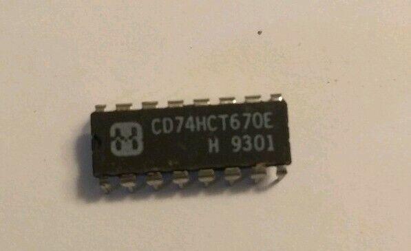 5 x CD74HC4017E High-Speed CMOS Logic Decade Counter//Divid Harris DIP-16 5pcs