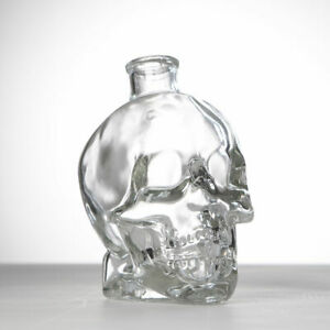 Cabeza De Cristal Cráneo Gótico Decantador Beber Botellas Whisky beber Perfume