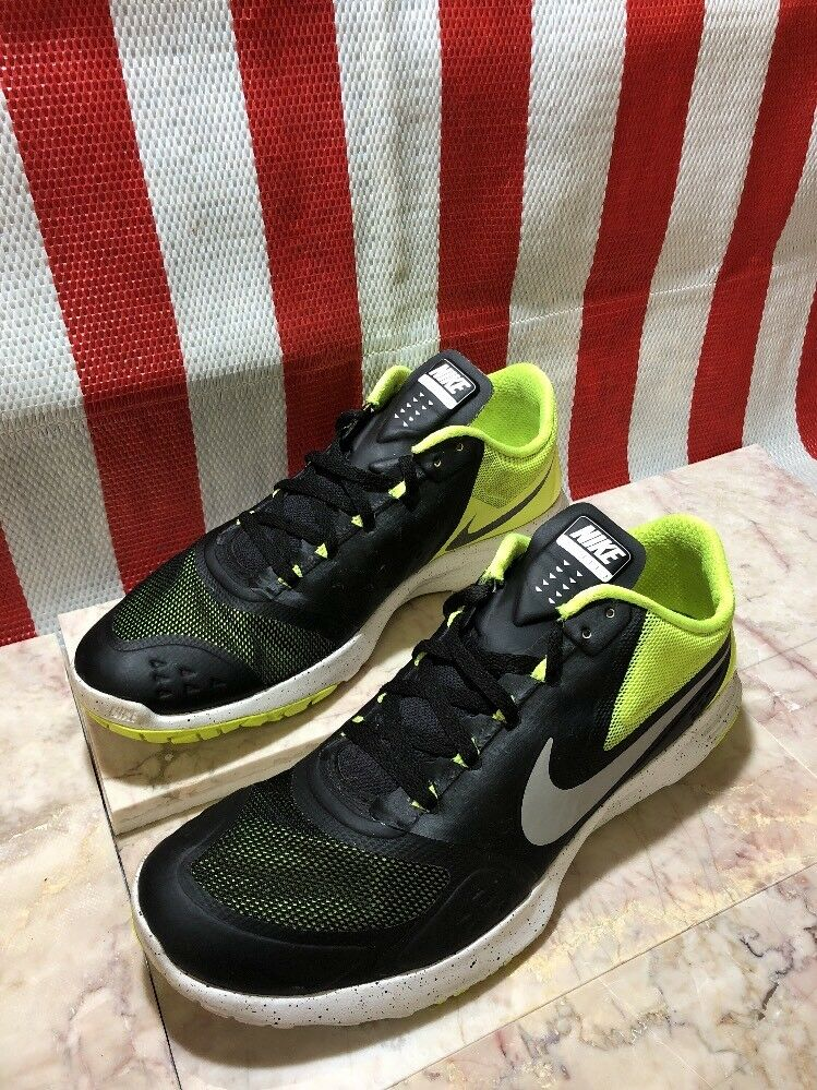 Nike Men's FS Lite 2 Running Shoe Volt / Black White Comfortable Seasonal price cuts, discount benefits