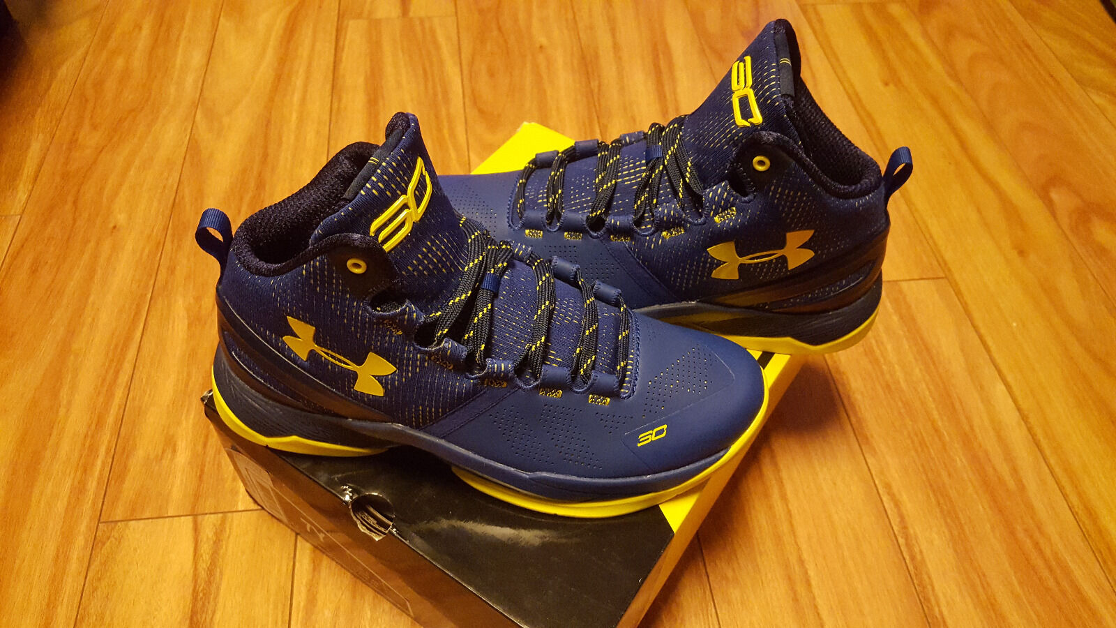 Under Armour Curry 2 Taxi Royal Blue