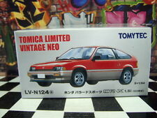 TOMICA LV-N124 HONDA BALLADE SPORTS CR-X 1.5i NEW IN BOX LIMITED VINTAGE NEO