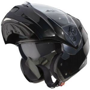 Caberg-Duke-II-Flip-Up-Front-Modular-Motorcycle-Bike-Helmet-Lid-Smart-Black