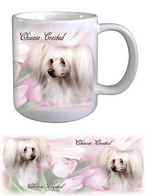 Chinese Crested Dog Ceramic Mug by paws2print