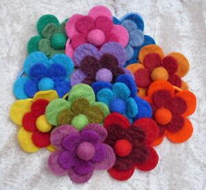 Hilfreich Fair Trade Elastisch Blume Filz Haarband Accesories Pferdeschwanz Halterung - GüNstige VerkäUfe