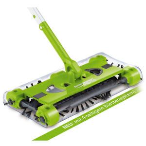 Swivel-Sweeper-Akkubesen-G2-Gruen-Ellenbogengelenk-Akkusauger-beutellos-Boden