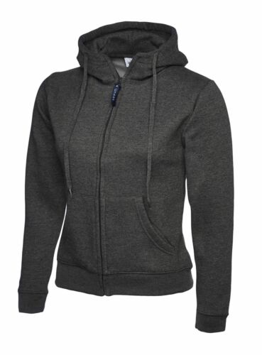 Uneek Ladies 300GSM Classic Full Zip Hooded Sweatshirt UC505