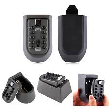 Byboo Outdoor Key Safe Lock Box Waterproof Key Storage Box Wall Mount Key Lo
