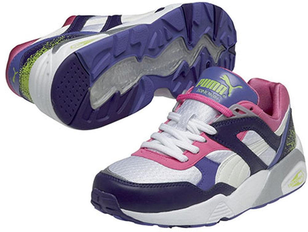 PUMA TRINOMIC TRINOMIC TRINOMIC R698 SPORT 357331-01 RAGAZZE DONNE shoes da ginnastica 97d68e