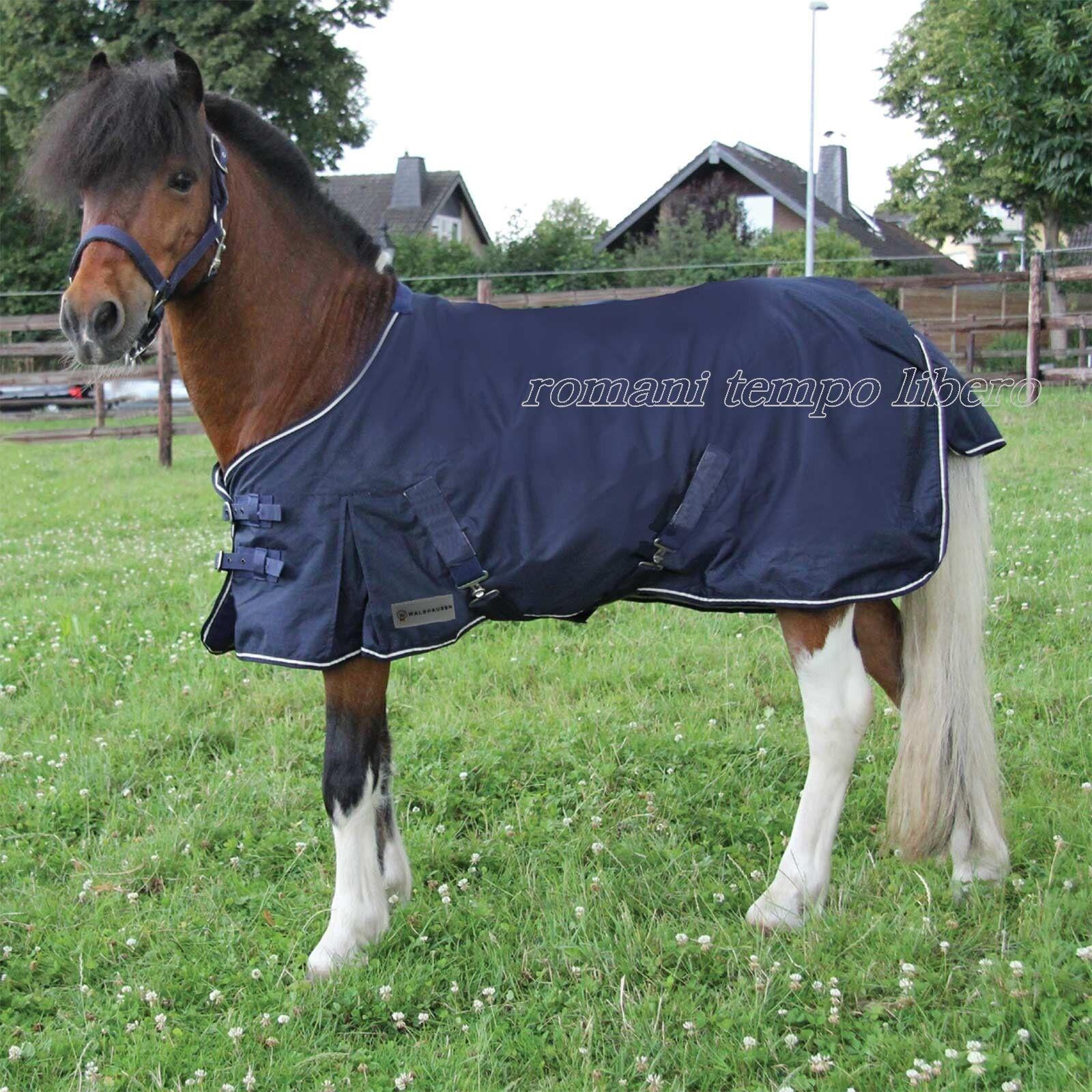 Coperta impermeabile da paddock per pony e shetle
