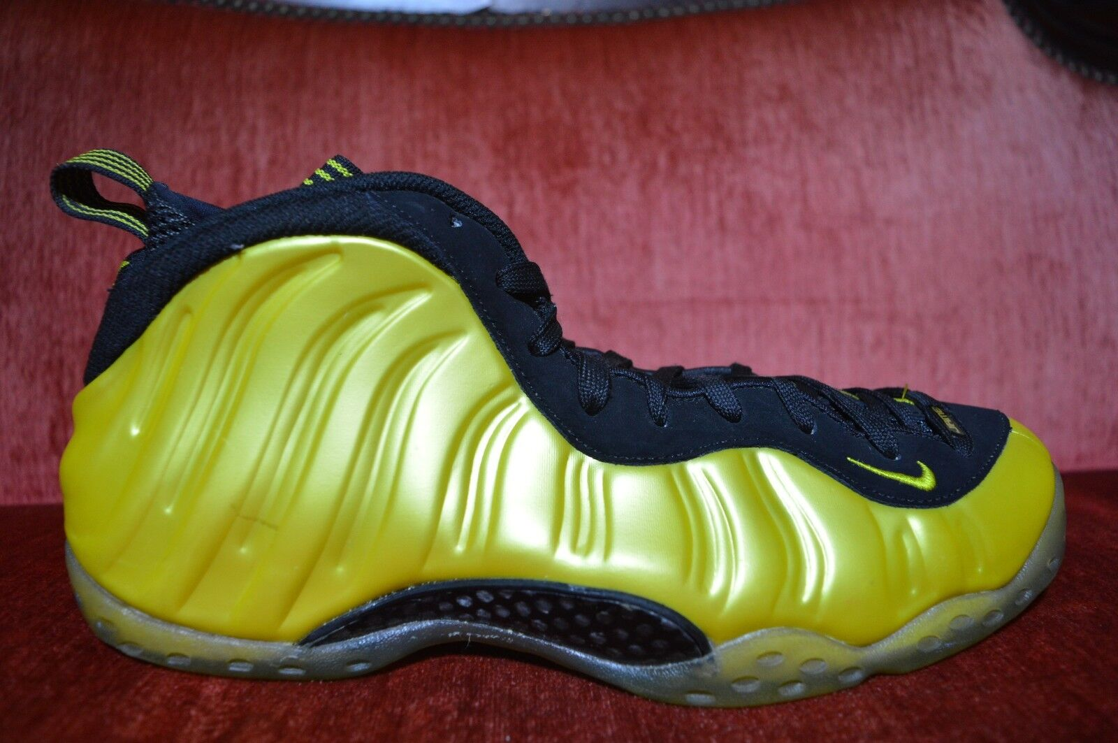 NIKE AIR FOAMPOSITE ONE 1 PENNY ELECTROLIME YELLOW BLACK WHITE 314996-330 10.5