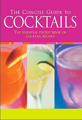 """""""AS NEW"""" , Cocktails (Concise Guides S.), Paperback Book"""
