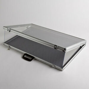 Image Is Loading Large Portable Aluminum Amp Gl Counter Top Locking