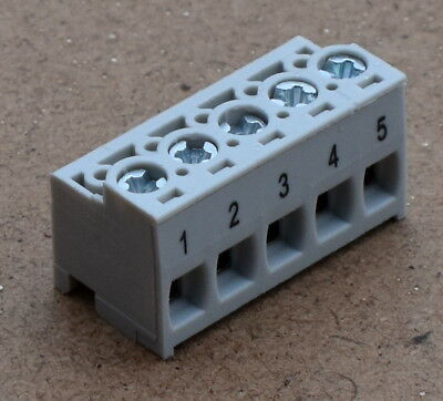 6 PRE-CRIMP 1855//19 WHITE Pack of 100 1722533111-06-W2-D