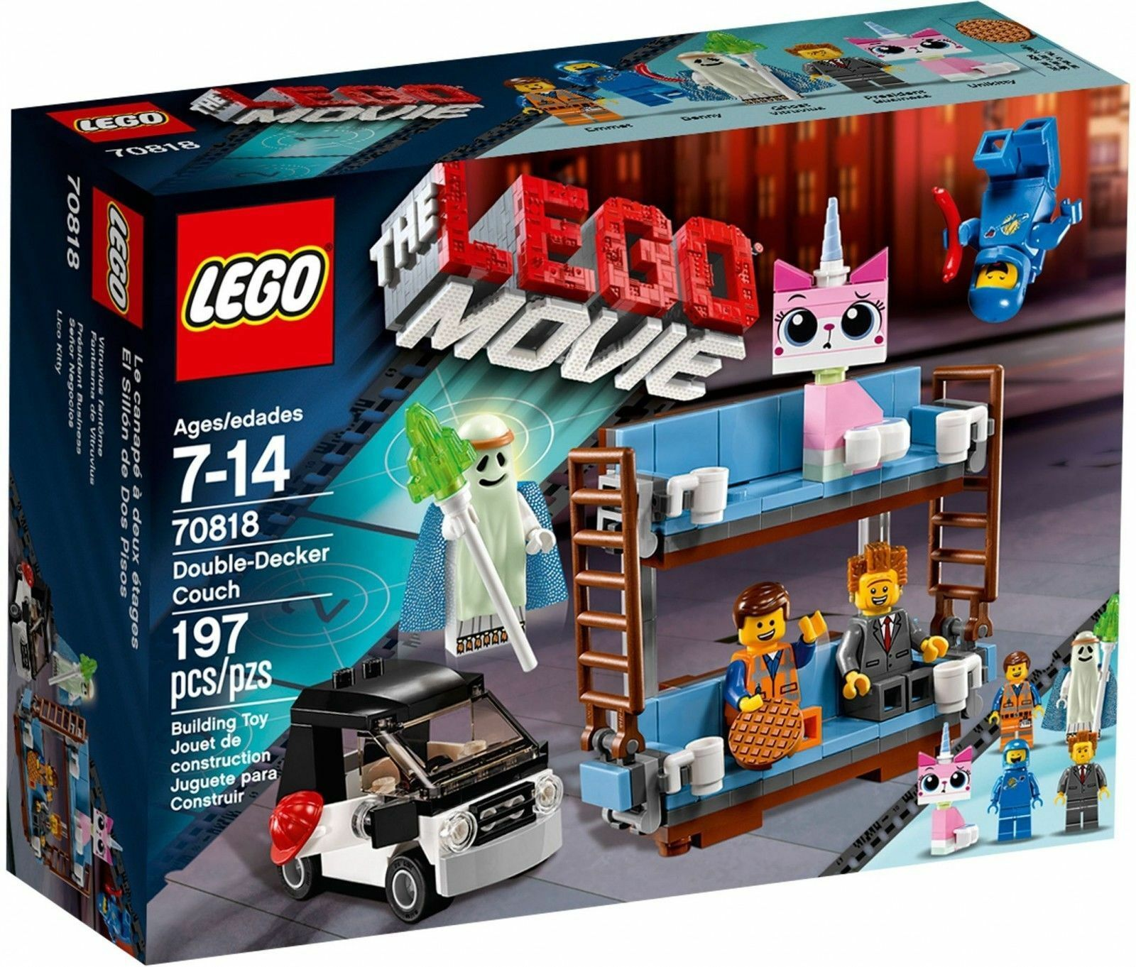 Lego 70818 Movie-Biplan canapé NEUF ET Neuf dans sa boîte