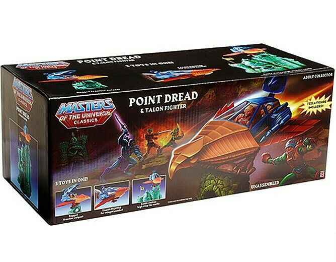 Masters of the Universe classeeics Point Dread  & Talon combatiente Set azione cifra  autorizzazione ufficiale