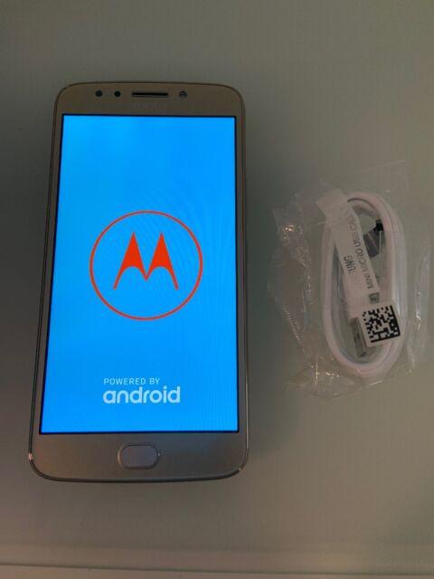 77d32c5de Motorola Moto E Plus 4th Generation - 32 GB - Fine Gold Unlocked Smartphone