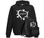 Girls Personalised Large Hearts Kids Bag hood Sports Kit Bag School
