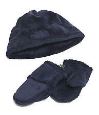 THE North Face Ragazzi Baby OSO grazioso cappello in pile Collection Soft Guanti Blu XS 6-24m
