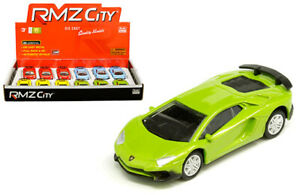 12-Pack-of-Lamborghini-Aventador-SV-Coupe-Die-cast-Car-1-64-by-RMZ-City-3-inch