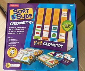 lakeshore sort and slide geometry center activity ages 7 ebay