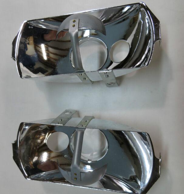 2X Euro style Head light reflector for Mercedes 280se w111 w108 w109 w113
