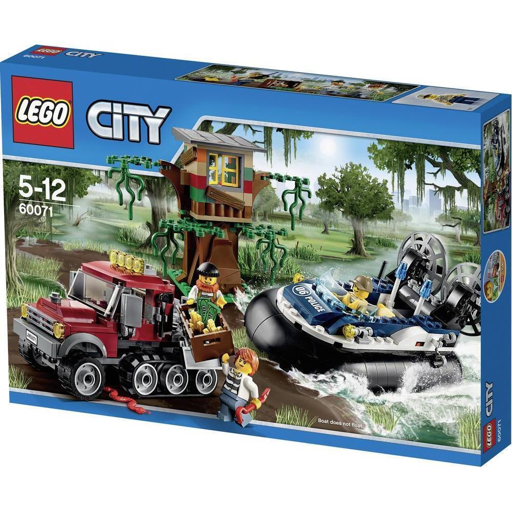 LEGO City_60071_Hovercraft Arrest_331 pcs pzs_New Sealed Set