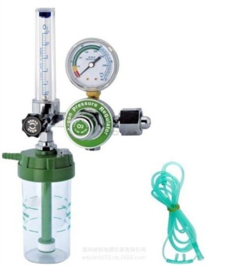 Médica de de de oxígeno regulador de presión caudalimetro llamo ventas nuevo KK 46a47f