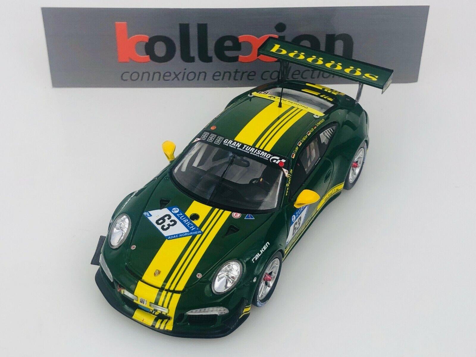 SPARK SG328 PORSCHE 911 GT3 CUP n°63 9und11 Racing 24h Nürburgring 2017 1.43