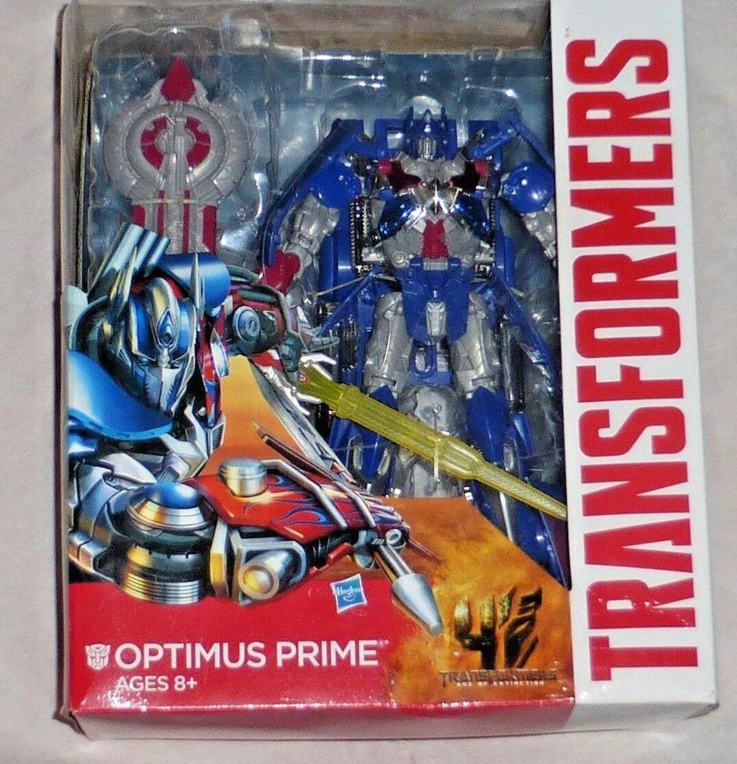Hasbro Transformers Age Of Extinction Leiter Klasse Optimus Prime Brandneu