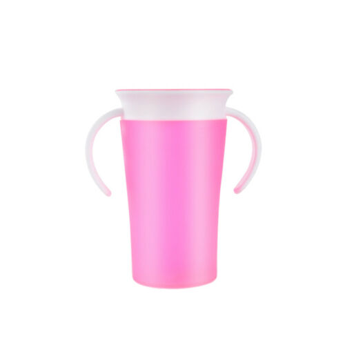 LEAK-PROOF BABY KIDS TODDLER LEARNING DRINKING WATER CUP BOTTLE 2 HANDLE SUPREME