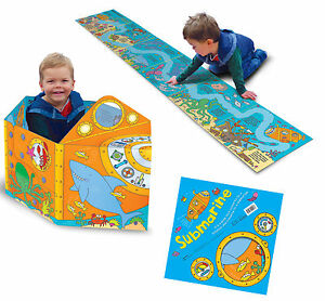 Submarine-Convertible-Book-Toy-3-6-Years-playmat