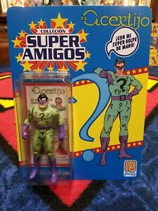 Details about Custom VARIANT Carded Super Powers / Super Amigos Riddler  (Read Description)