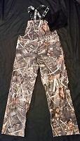 Camo Fishing / Hunting Suspender Waterproof Pants Size Small New/tag Realtree
