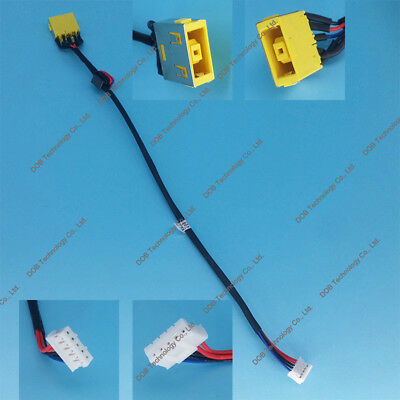 DC power jack in cable HARNESS for LENOVO IDEAPAD G500-59372004 G500-59372006
