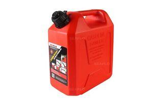 Plastic Gas Cans >> Details About Plastic Gasoline Cans 1 3 Gallon 5 Litres Auto Shut Off Gas Tank Fuel Container