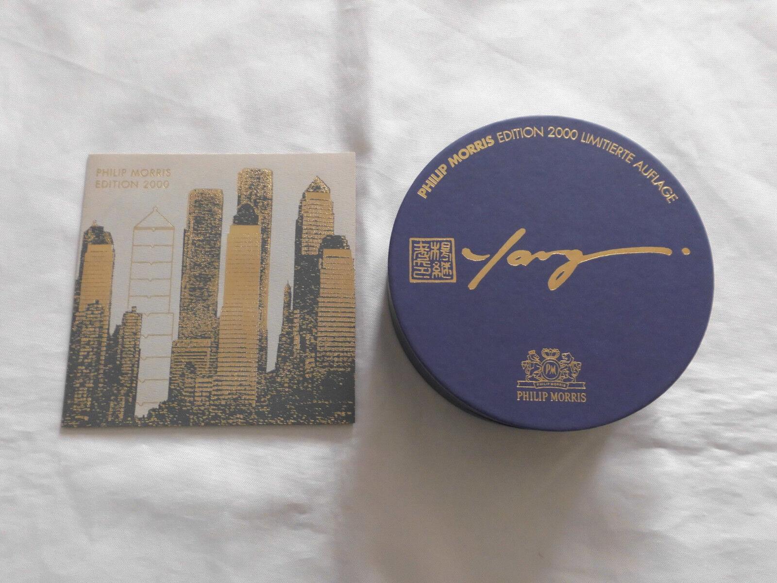 Philip Morris Editions Aschenbecher Rosanthal Limitierte Aufl, 2000   1999 Yang   Eine Große Vielfalt An Modelle 2019 Neue
