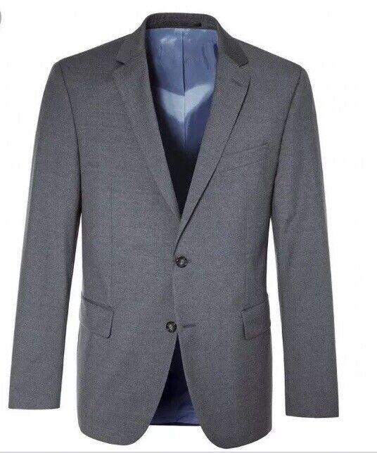 Pierre cardin jacke grau suit Größe 46