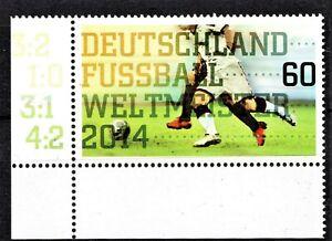 Diplomatique Allemagne - 2014 Sg3930-b. Corner Issue-comme Neuf Nh **-afficher Le Titre D'origine