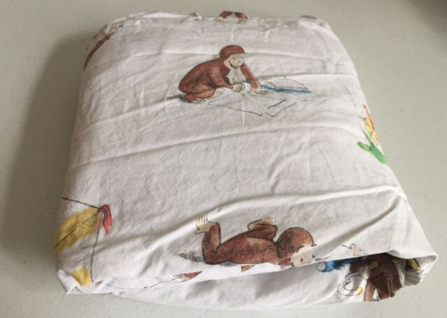 Pottery Barn Kids Curious George Fitted Crib Or Toddler